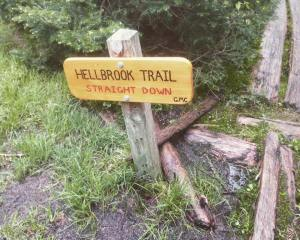 Hellbrook Trail Sign