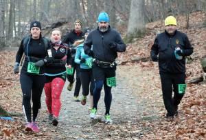 Running as a group! - Photo David Metsky